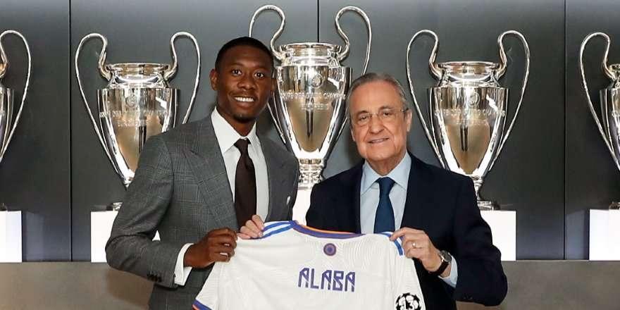Алаба представлен в качестве игрока «Реала»