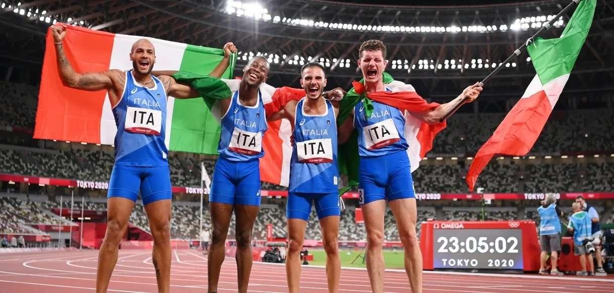 Определились чемпионы в эстафетном беге 4х100 м на ОИ