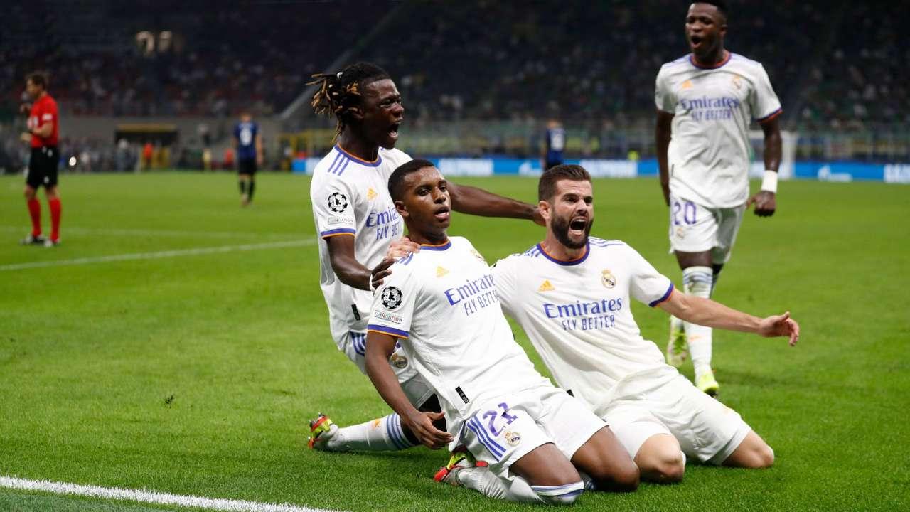 «Реал» в концовке матча вырвал победу у «Интера» в ЛЧ