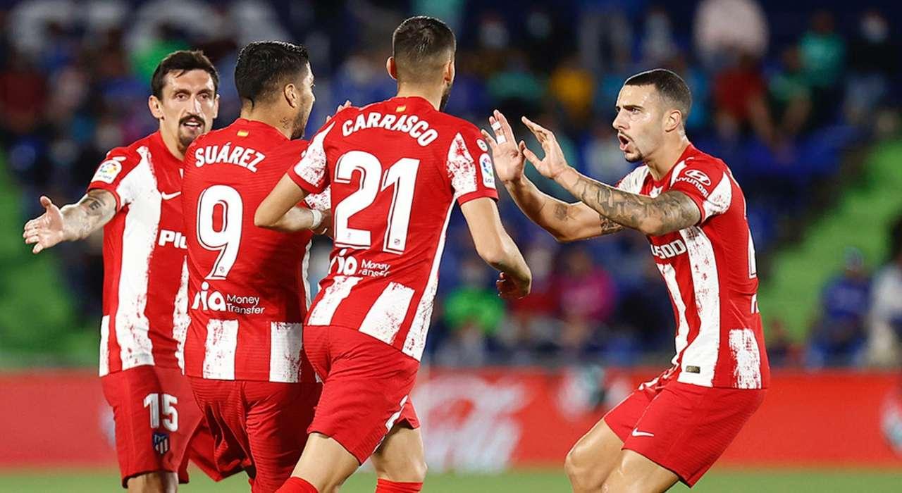Дубль Суареса принёс «Атлетико» победу над «Хетафе»
