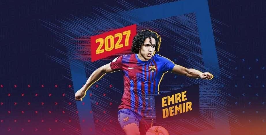 «Барселона» подписала 17-летнего футболиста из Турции