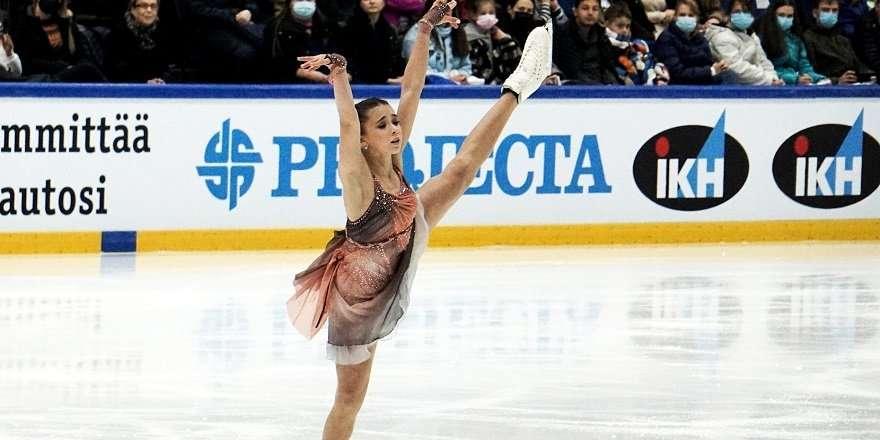 Валиева выиграла турнир в Финляндии с тремя мировыми рекордами