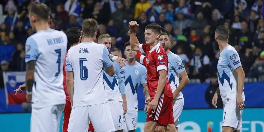 Россия вышла на первое место в отборе ЧМ-2022